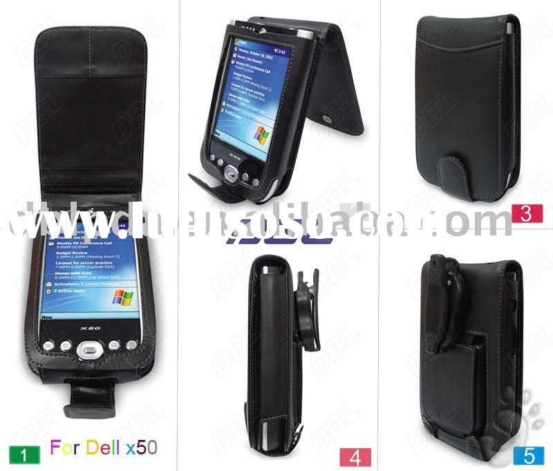 leather case for Dell of PDA,PDA case