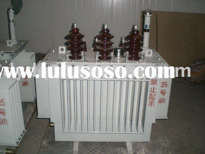 oil Electrical power distribution transformer