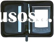 pda case with notepad