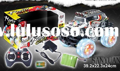 remote control flip car toys 1:14 R/C DANCE CAR W/MUSIC LIGHT