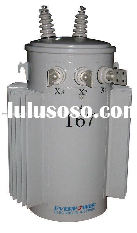 single -phase  distribution transformer (pole mounted,oil- immersed transformer)