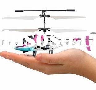 wholesale paypal mini remote control helicopter with gyro and led light