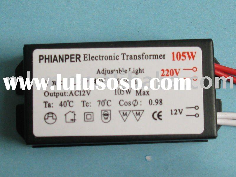105W/12V Lighting Electronic Transformer