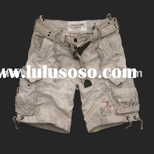 2011 Abercrombie & Fitch cargo Shorts,AF men shorts