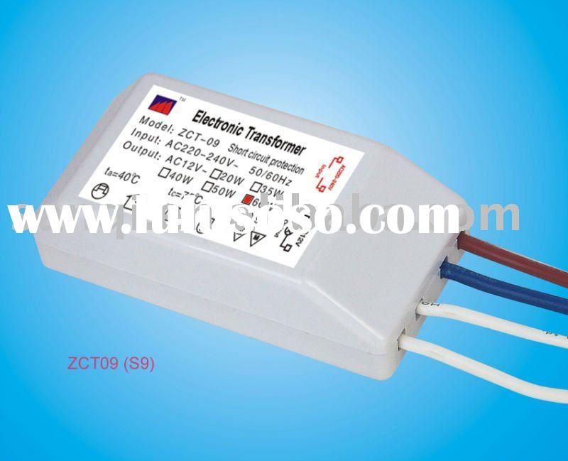 2011  electronic light transformer for 12v Halogen lamp