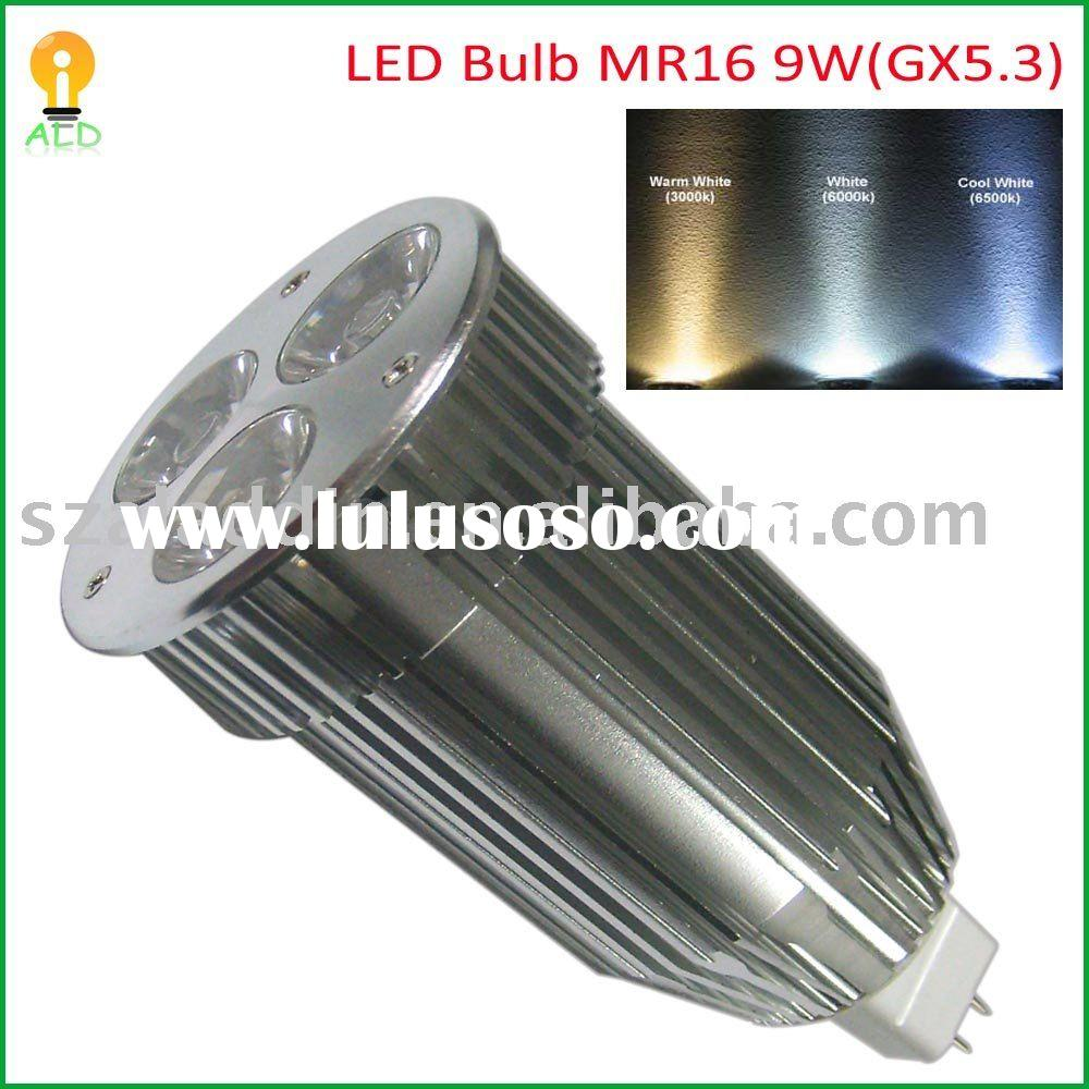 60W halogen replacement bulbs, LED 9W MR16 Spotlights