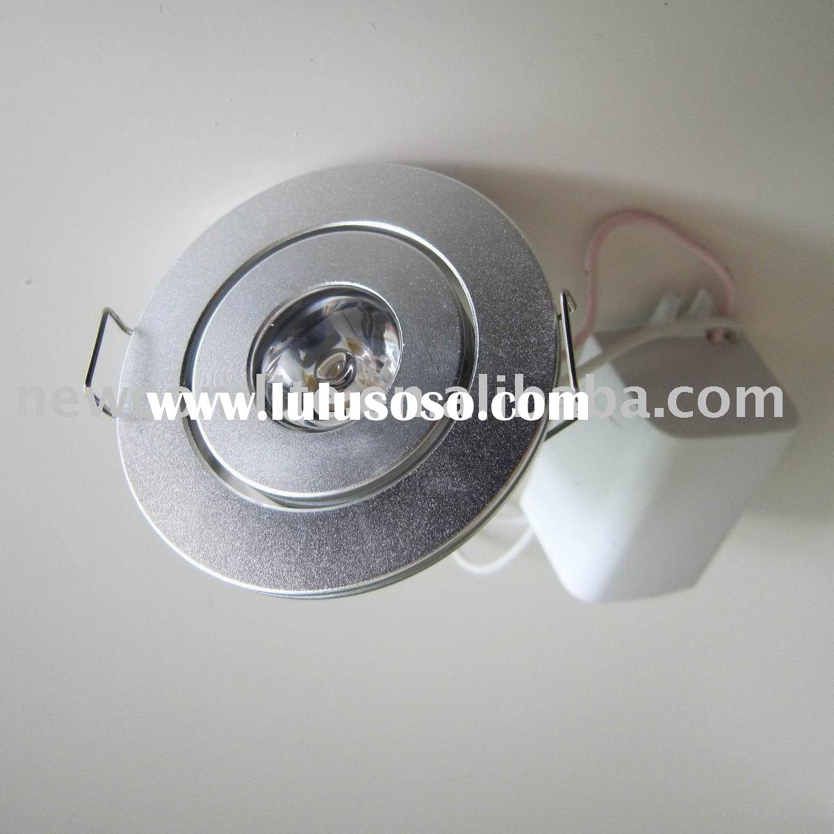 Bright 1W LED downlight Replace 10W halogen bulb
