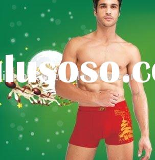 Christmas design men's boxers