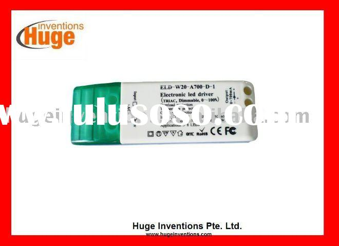 Constant current LED driver transformer 350mA 500mA 700mA 15W dimmable MR16