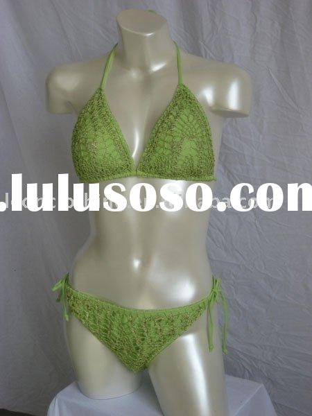 Crochet News: New- String Bikini Top - Pattern Available Soon