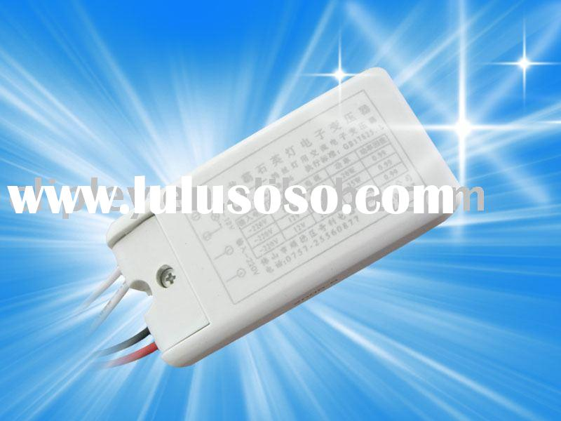 Halogen lamp Electronic transformer
