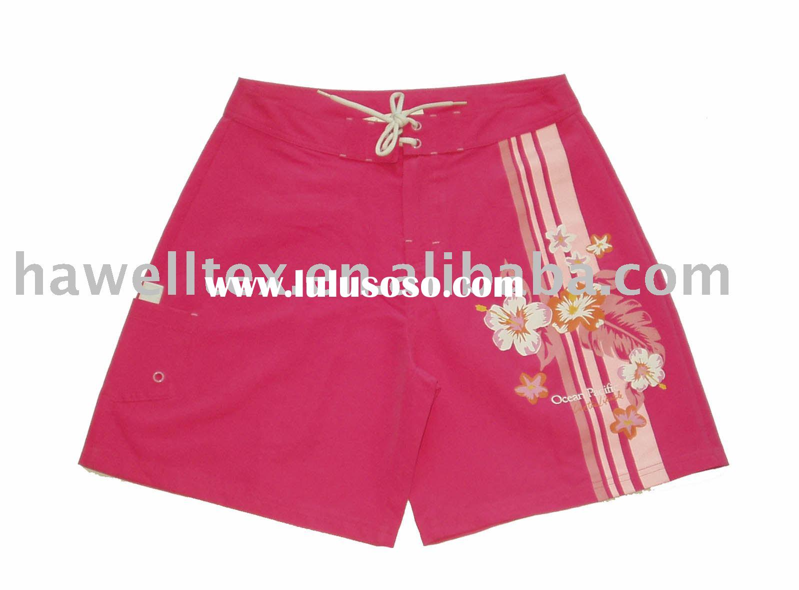 Ladies board shorts.(beachwear,swimming shorts)