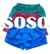 Men Silk Boxer Shorts
