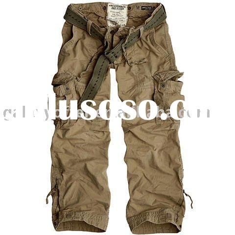Paypal AF cargo pants A&F cargo pants Abercrombie & Fitch cargo pants boy Men's Carg
