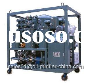 Sell Double-stage vacuum Transformer Oil Purification machine oil filtration plant, Oil Treatment Un