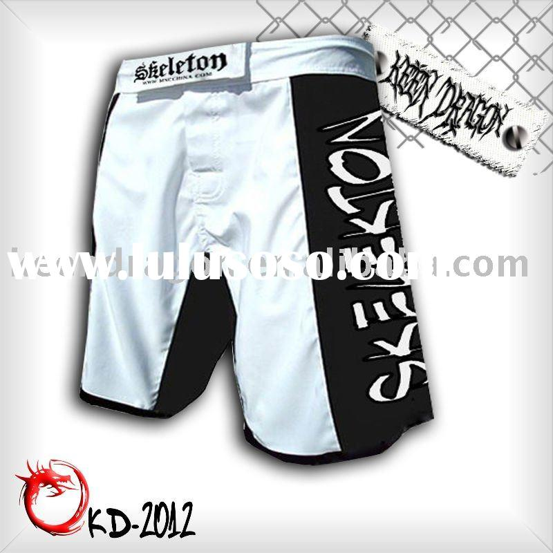 Short for boxing 100% polyester printed customized mma shorts