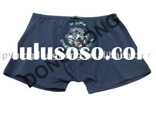 deep color cotton boxer shorts for men
