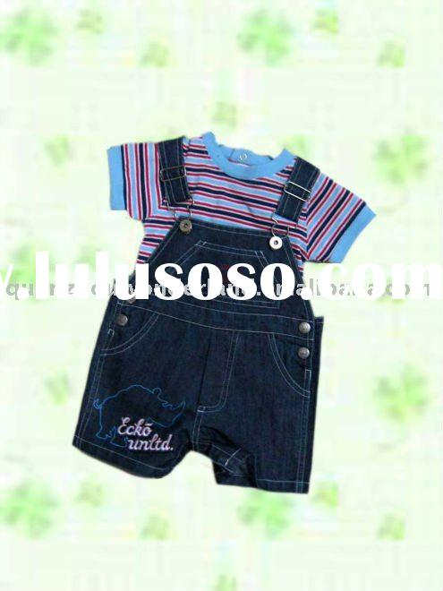 fashion children clothing,boys short set