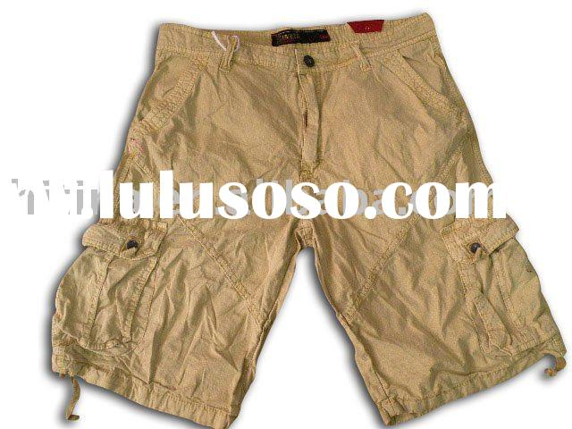 men's cargo shorts bermuda shorts men's beachwear