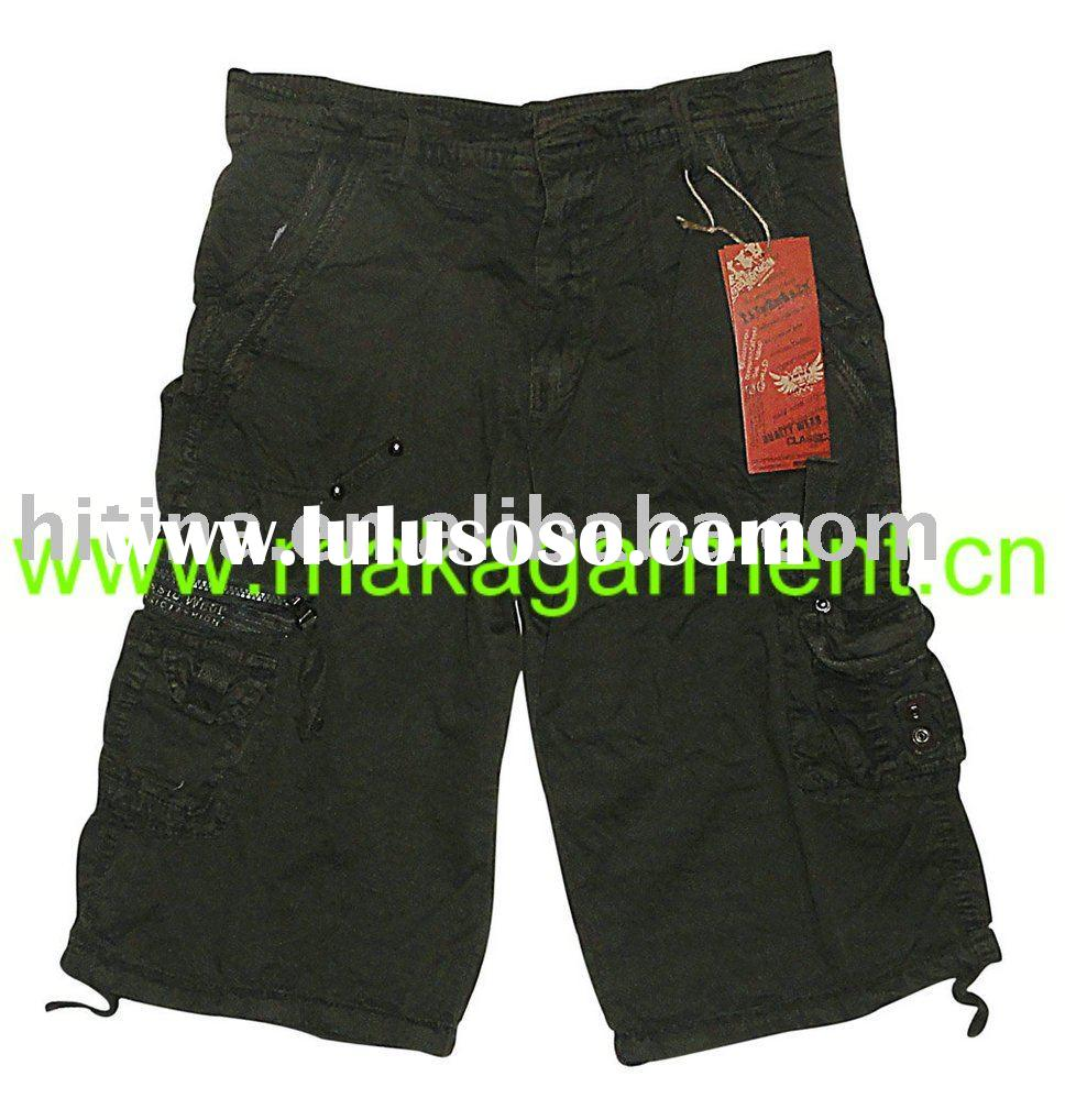 men's casual shorts,cargo shorts