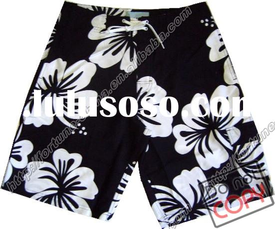 printed men's board shorts