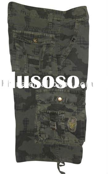 wholesale men's cargo shorts, stock shorts