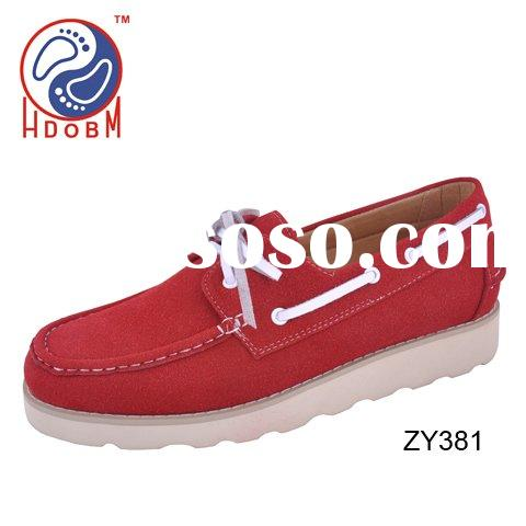Comfortable keep warm suede mens casual shoes