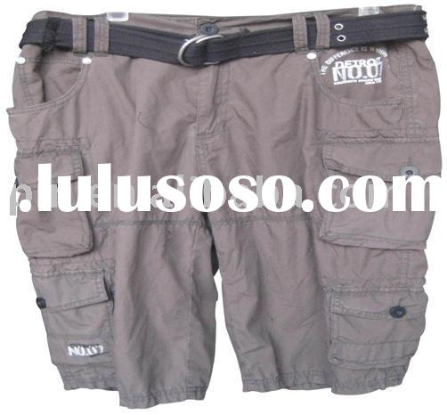 Shorts with washing ( cargo shorts/ Bermuda shorts)