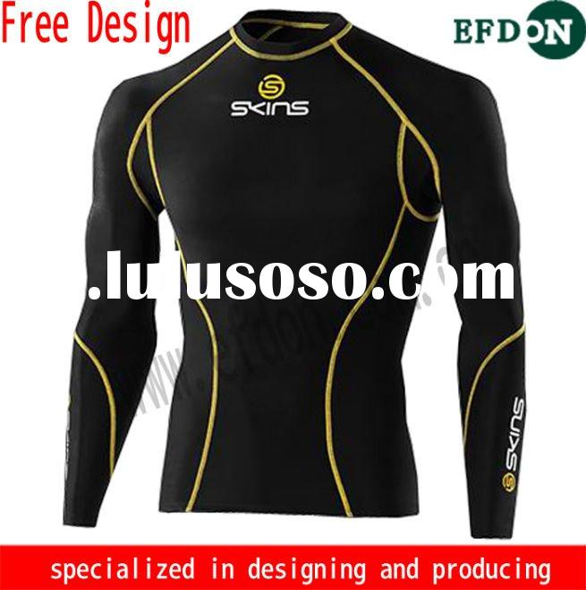 long sleeve compression wear