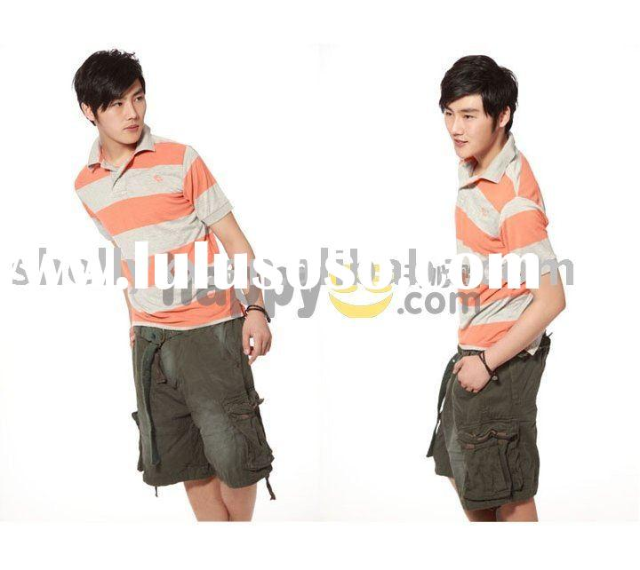 men abercrombie hot cargo shorts