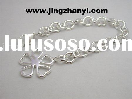 silver charms for bracelets ORDER-11213B(Custom Design)