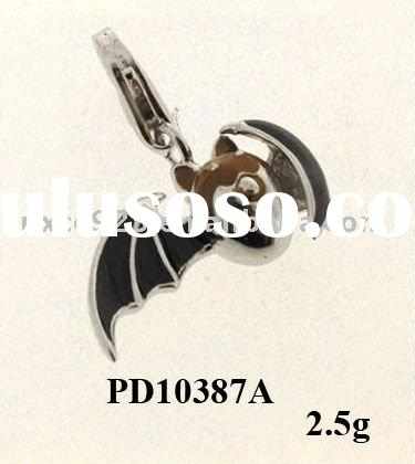 2011 Unique 925 sterling silver charms/enamel jewelry/wholesale jewelry/factory price