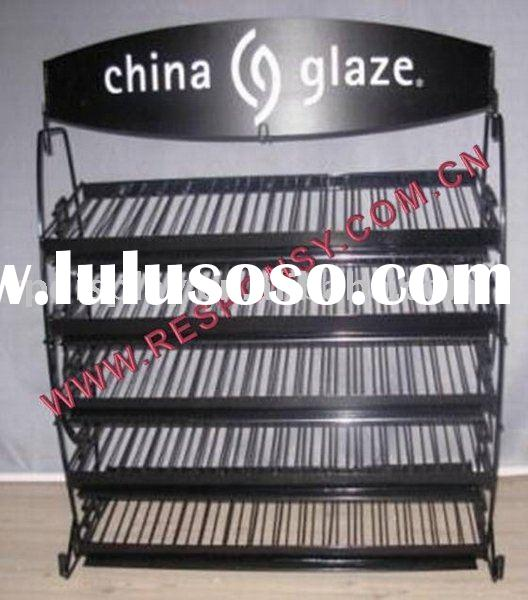 China Glaze nail polish display stand