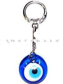 Evil Eye Keychain Greek Good Luck Charm