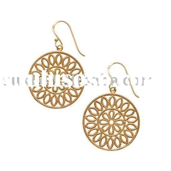 AUTHENTIC CHANEL 14kt DANGLE EARRINGS – Compare Prices, Read