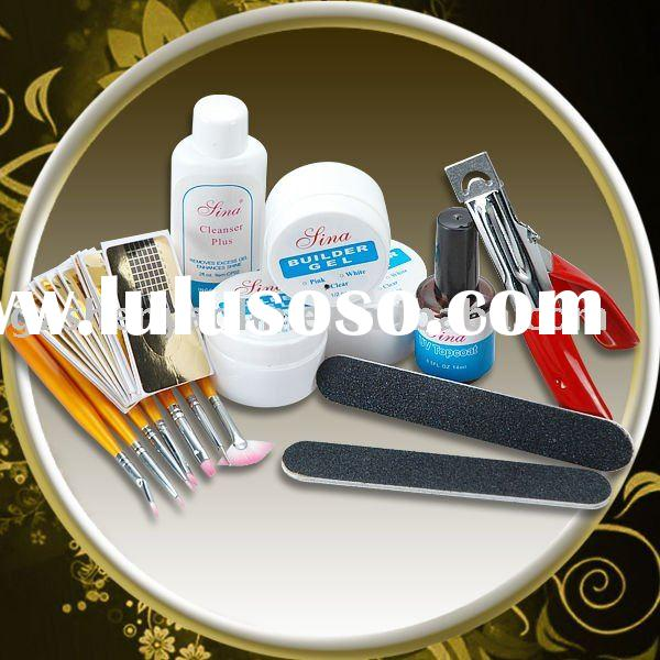 UV GEL STARTER SET FOR NAIL ART DECORATION