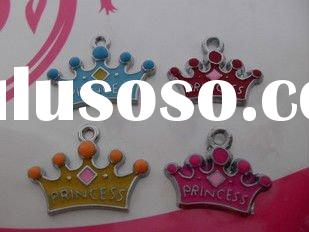 fashion crown charms, metal alloy, fashion jewerly pendants