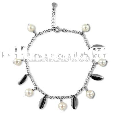 lucky charm bracelets with fresh water pearl wish u good luck in 2011