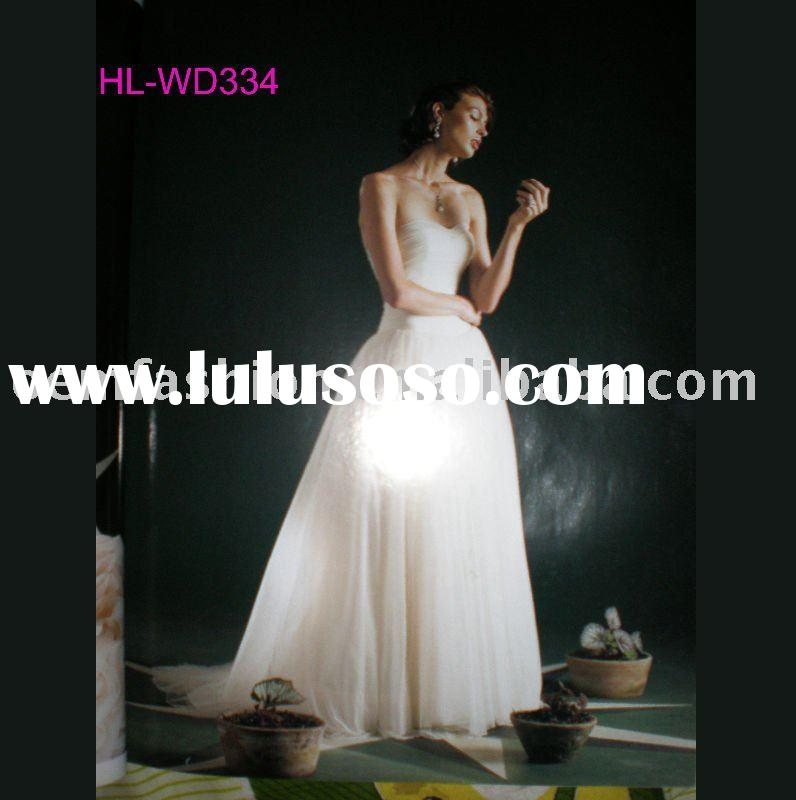 vintage wedding dresses HL-WD334