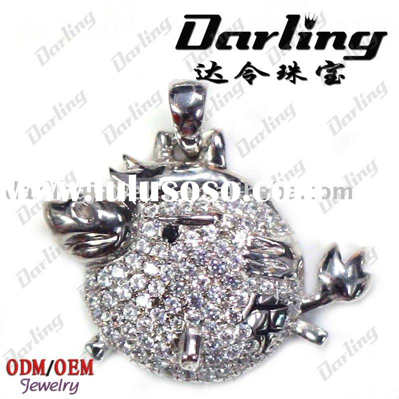 wholesale 925 sterling silver charms pendants