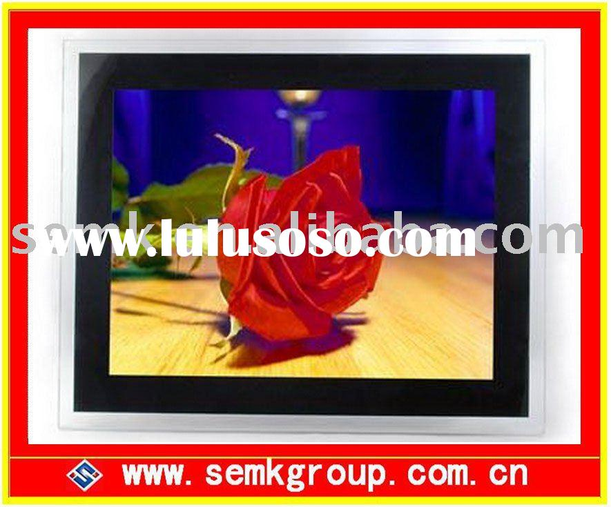 17 inch digital foto frame with OTG and built-in memory