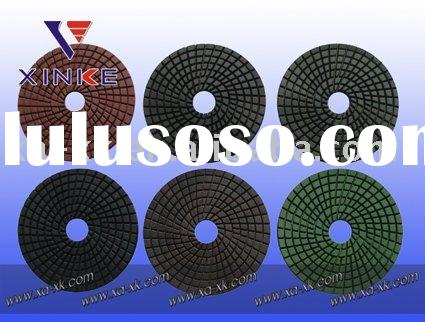4inch Diamond flexible wet polishing pad