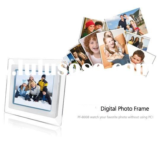 8 inch WIFI touchscreen Digital photo frames