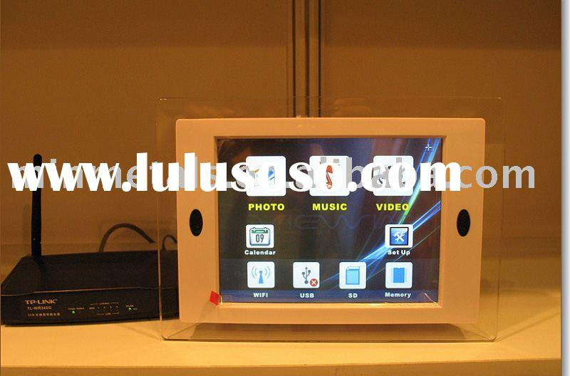 8 inch  touchscreen Digital photo frames
