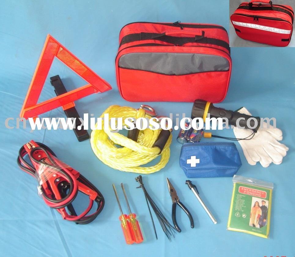 Auto Emergency Tool Kit,Roadside Emergency Kit, Car Emergency Kit