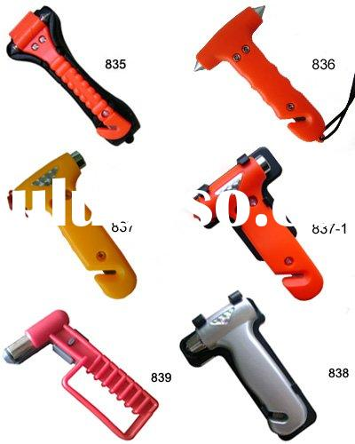 Auto emergency hammer car opening tools