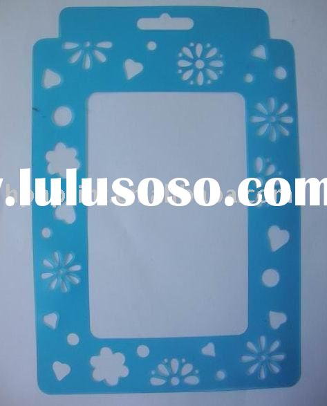 Cute  Photo Frame PP stencils/Painting Stencils/drawing stencil