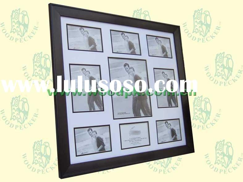 Double matboard collage photo frame 55x60cm, family baby photos, 4R,5R,8R phoots