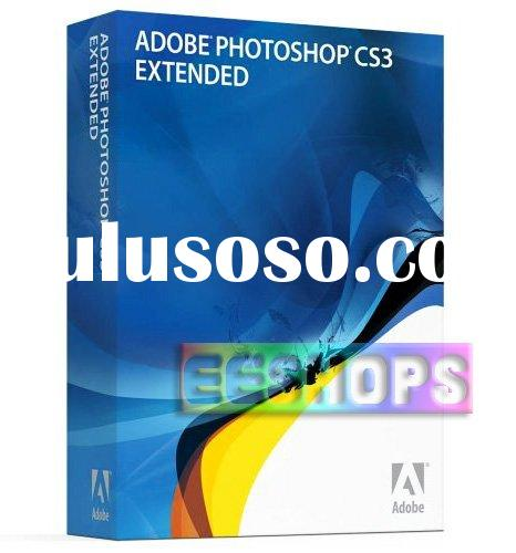 For Adobe Photoshop CS3 Extended Professional Full Version
