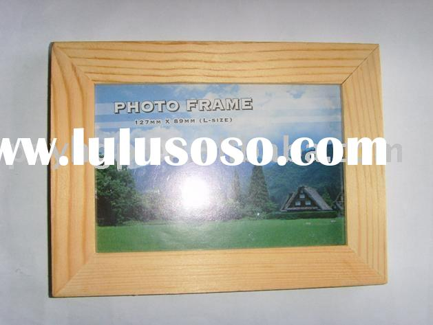 natural wood photo framecheap picture framehouse decorative framesimple frame
